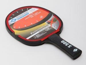 Ракетка для настольного тенниса 1 штука DONIC LEVEL 500 PROTECTION LINE (пластик, резина)