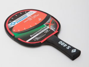 Ракетка для настольного тенниса 1 штука DONIC LEVEL 400 PROTECTION LINE (пластик, резина)