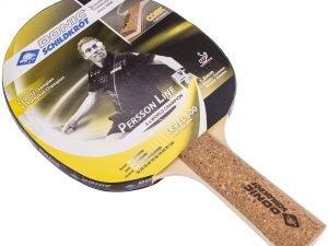 Ракетка для настольного тенниса 1 штука DONIC LEVEL 500 PERSSON (древесина, пробка, резина)