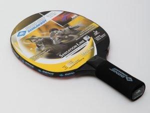 Ракетка для настольного тенниса 1 штука DONIC LEVEL 500 SENSATION (древесина, винил, резина)