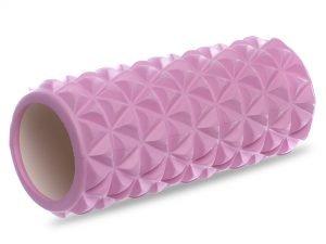 Роллер для занятий йогой и пилатесом Triangle l-33см (d-14см, l-33см, цвета в ассортименте) - Цвет Розовый