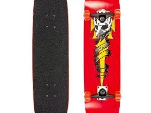 Скейтборд деревянный в сборе из канадского клена 31in (колесо-PU, р-р деки 71×19см, АВЕС-7)