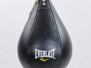 Груша пневматическая Каплевидная подвесная EVERLAST (верх-кожа, латекс. камера, d-18см, l-25см)