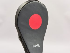 Лапа Изогнутая из PU (1шт) EVERLAST MMA MANTIS MITTS (р-р 28x18x10см, черный)