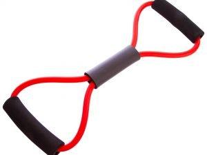 Эспандер трубчатый Восьмерка 10-13LB (латекс, d-6 x 10мм, l-100см, ручка неопрен)