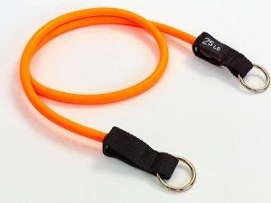 Эспандер трубчатый с кольцом оранжевый (латекс, р-р 5,5х12,5×1200мм)