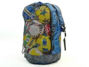Сумка-рюкзак на 20 мячей С-4894 (полиэстер, р-р 85x50x45см)
