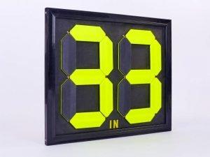 Табло замены игроков С-2911-00 (2×2, металл, пластик, р-р 44×39см, двухсторонее, универсальное)