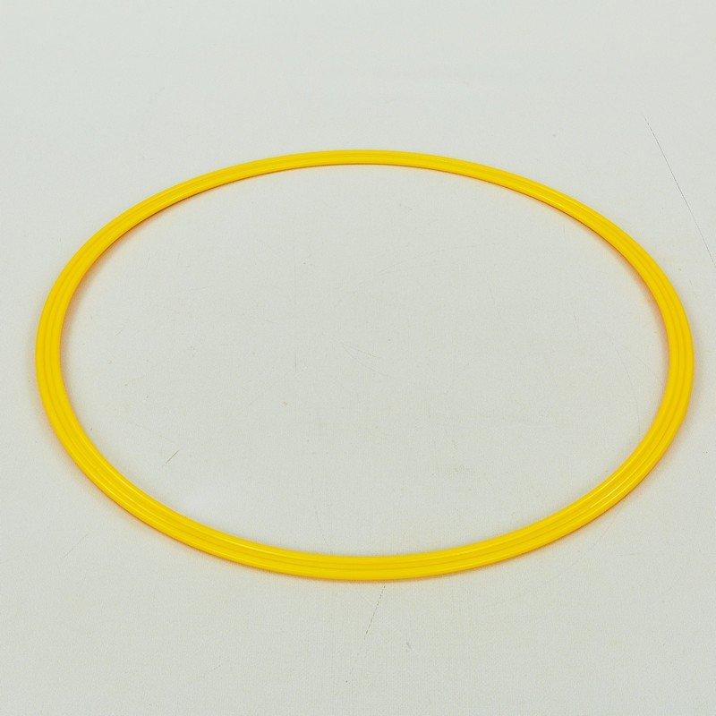 Кольца тренировочные (пластик, d-50см, в комплекте 12шт., цвета в ассортименте)