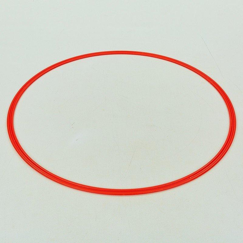 Кольца тренировочные (пластик, d-70см, в комплекте 12шт., цвета в ассортименте)