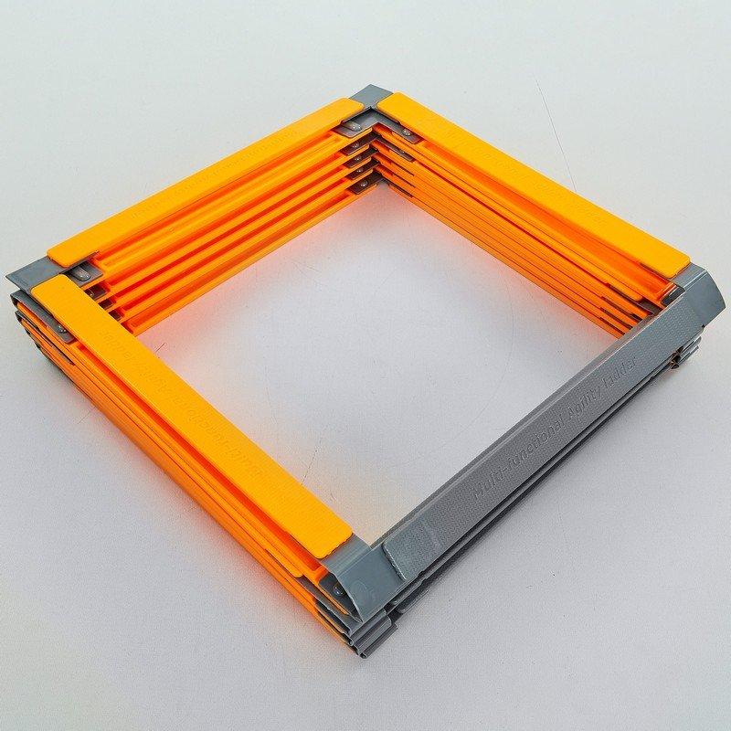 Координационная лестница дорожка с барьерами 10 перекладин (пластик, р-р 5,5×51см)