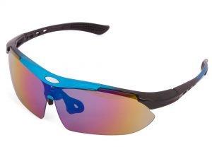 Очки спортивные SPOSUNE (PC, цвет линз-хамелеон, цвета в ассортименте) - Цвет Синий