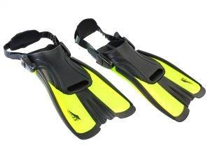 Ласты тренировочные с открытой пяткой SEALS (размер S (34-38), цвета в ассортименте) - Цвет Салатовый