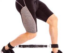 Латеральный амортизатор для ног SP-Planeta (латекс, полиэстер, длина жгута-20см)