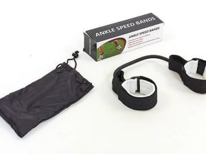 Латеральный амортизатор для ног SP-Planeta Ankle Speed Bands (латекс, полиэстер,синтетический войлок, размер жгута-250х10х4мм)