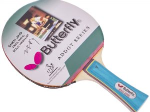 Ракетка для настольного тенниса 1 штука BUT Addoy-F1 3star (древесина, резина) Replika