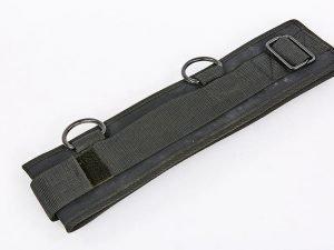 Пояс для крепления эспандеров (нейлон, р-р 87×10см, черный)