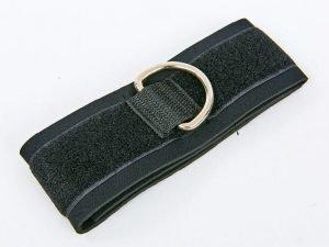 Лямка для ног (1шт) (нейлон, р-р 50х5,5см, черный)