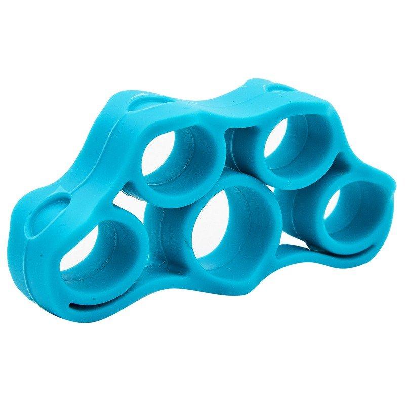 Эспандер кистевой для развития пальцев (1шт) (силикон, цвета в ассортименте)