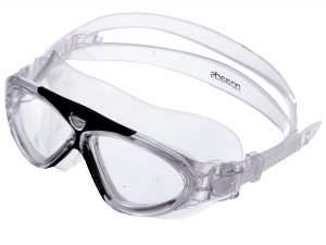 Очки-полумаска для плавания SPDO (поликарбонат, TPR, силикон, цвета в ассортименте) Replika (S8800)