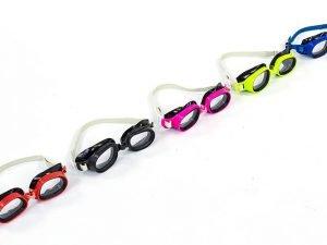 Очки для плавания детские (пластик, PVC, цвета в ассортименте)