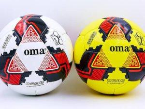 Мяч футбольный №5 JM (№5, PU, желтый, белый) (Replica)