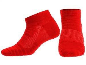 Носки спортивные для баскетбола (нейлон, хлопок, р-р 40-45, цвета в ассортименте) - Цвет Бордовый