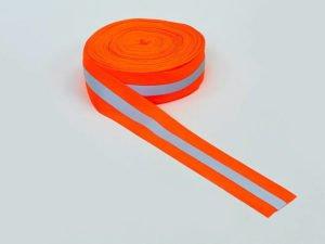 Лента для разметки спортивных площадок (полиэстер, l-50м, оранжевый)