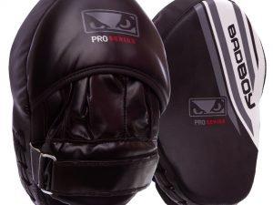 Лапа Изогнутая (2шт) FLEX BAD BOY Pro Series Advanced (крепление на липучке,р-р 25x20x10 см, черный-белый)