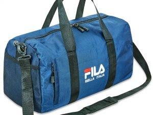 Сумка для спортзала FILA (полиэстер, р-р 45x26x19,5см, цвета в ассортименте) - Цвет Синий