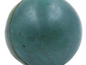Мячик для метания UR (резина, вес-200г, d-55мм, цвета в ассортименте) - Цвет Зеленый