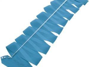 Лента для художественной гимнастики с палочкой 6м Lingo (нейлон, l-6м, палочка-металл, l-60см,цвета в ассортименте ) - Цвет Голубой