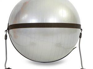 Ремень на фитбол d-65см для крепл.эспандеров BODY BALL STRAP (без фитбола) (2эсп.l-102см)