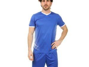 Футбольная форма (PL, р-р L-3XL, рост 160-185, синий-белый) - 2XL, рост 175-180