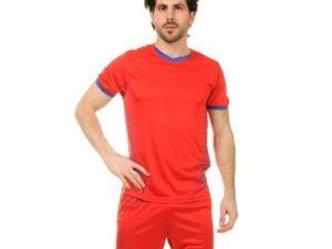 Футбольная форма (PL, р-р L-3XL, рост 160-185, красный-синий) - XL, рост 170-175