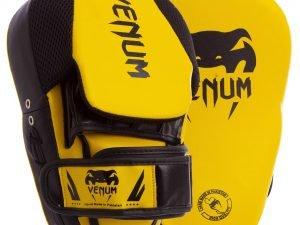 Лапа Изогнутая (2шт) FLEX VNM (крепление на липучке, р-р 26x19x5см, лимонный-черный)