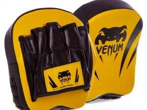 Лапа Изогнутая (2шт) FLEX VNM (крепление на липучке, р-р 18x16x5см, лимонный-черный)