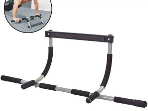 Тренажер-турник Iron Gym (металл,пенорезина, р-р 94x44x17,3см, вес позльз. до 100кг)