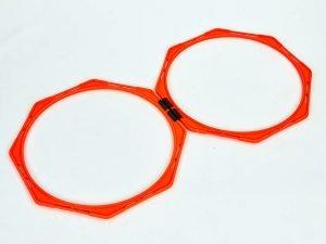 Тренировочная напольная сетка (соты 2шт) Agility Grid (пластик, оранжевый)