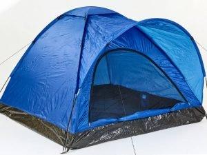 Палатка универсальная 3-х местная GEMIN (р-р 1,8х2,0х1,2м, PL 170T, пол PE 110g-m2)