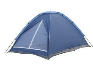 Палатка универсальная 3-х местная WEEKEND (р-р 1,8х2,0х1,2м, PL 170T, пол PE 110g-m2)