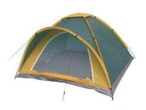 Палатка универсальная 5-ти местная GEMIN (р-р 2,4х2,4х1,4м, PL 170T, пол PE 110g-m2)