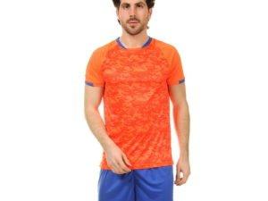 Футбольная форма (PL, р-р L-3XL, рост 160-185, оранжевый-синий) - XL, рост 170-175