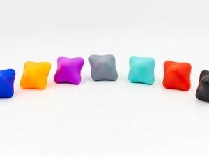 Мяч для реакции (силикон, цвета в ассортименте)