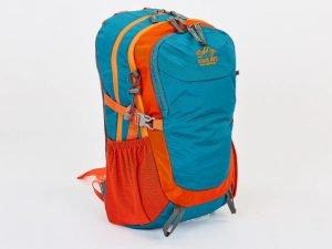Рюкзак спортивный с жесткой спинкой COLOR LIFE V-25л (нейлон, р-р 44,5х27х17,5см, цвета в ассортименте) - Цвет Бирюза-оранжевый