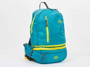 Рюкзак-сумка на пояс V-35л COLOR LIFE (нейлон, р-р 45х24х12см, цвета в ассортименте) - Цвет Бирюзовый