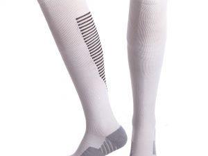 Гетры футбольные мужские (нейлон, размер 40-45, цвета в ассортименте) - Цвет Белый-серый