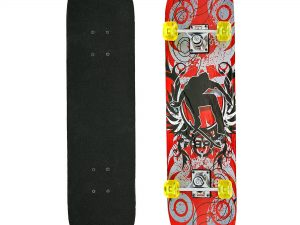 Скейтборд в сборе (роликовая доска) (колесо-PU, р-р деки 78х20х1,2см, 608Z)