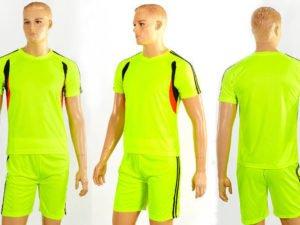 Футбольная форма подростковая Line (PL, р-р М-XL-135-165см(26-30), салат,шорты салат) - M-26, рост 135-145