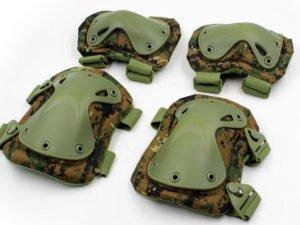 Защита тактическая наколенники, налокотники (ABS, полиэстер 600D, пиксель Marpat)